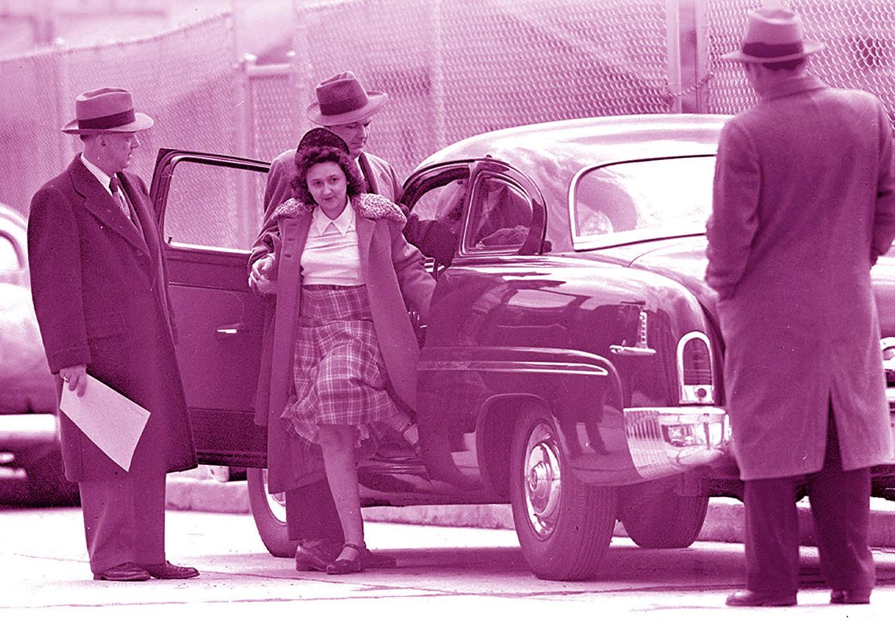 Ethel Rosenberg under arrest