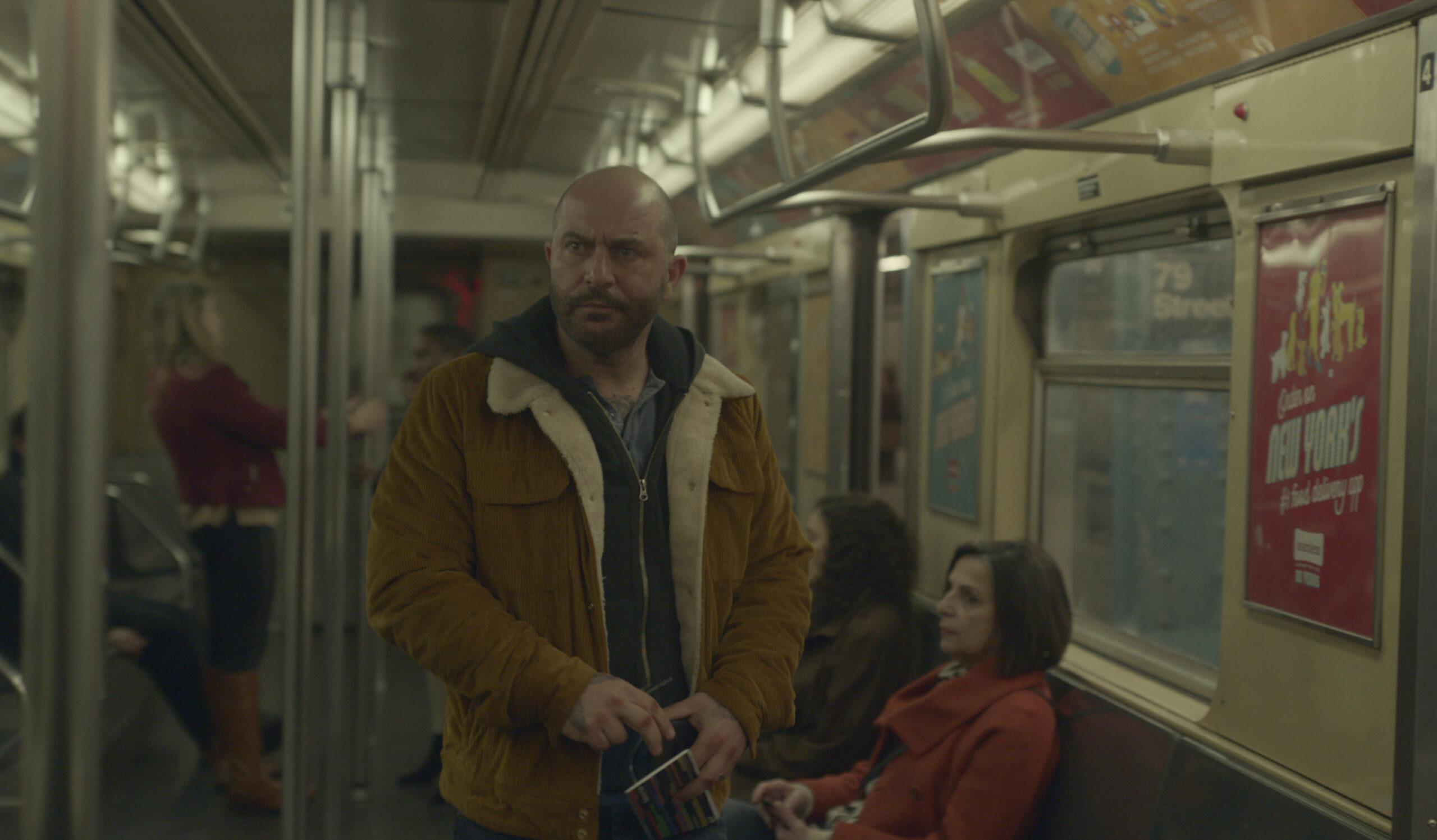 "Lior Raz as Segev Azulai in ""Hit & Run."" (Photo/Netflix)"