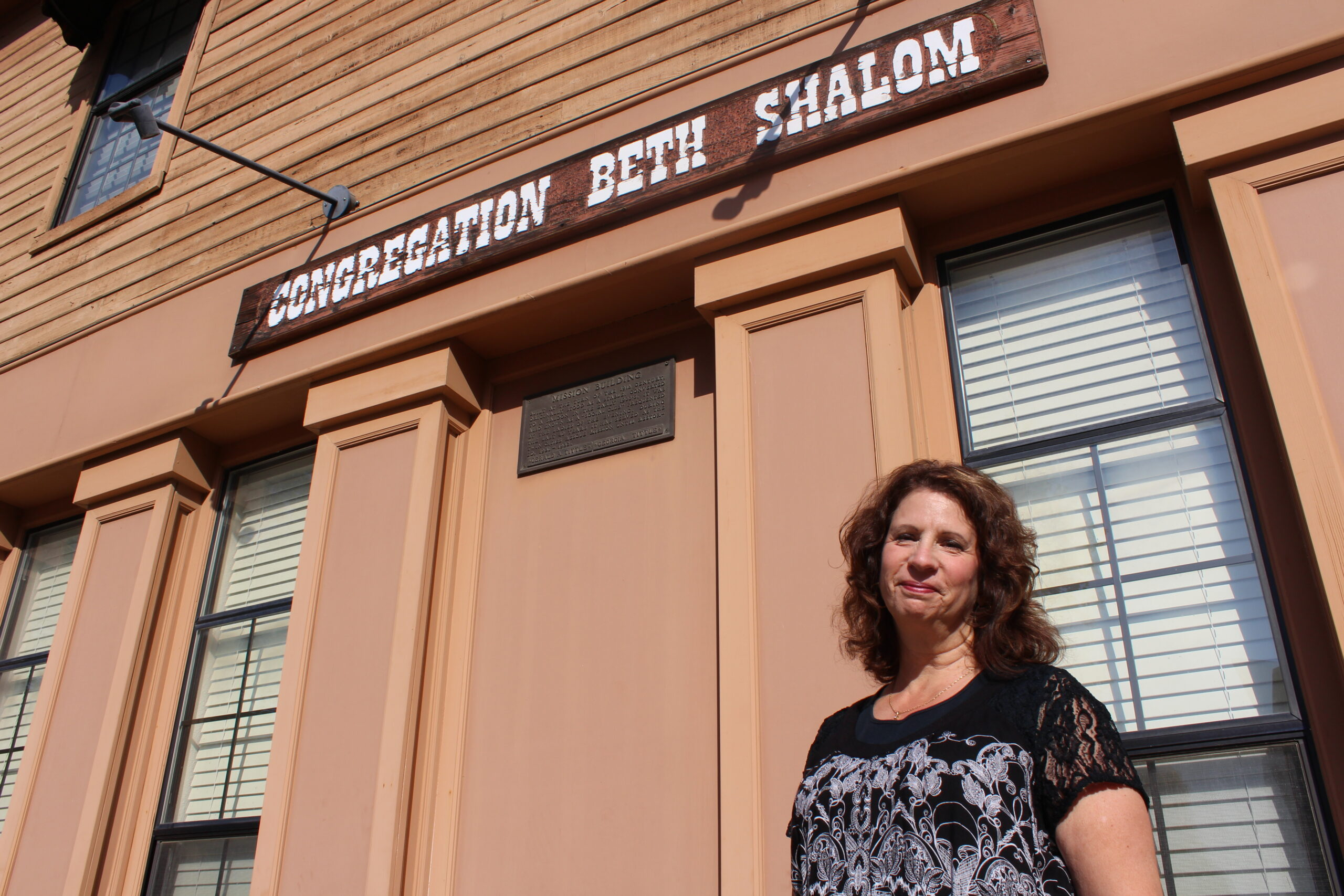 Miriam Root is a past president of Congregation Beth Shalom in Marysville, and has been a member for more than 30 years. (Photo/Gabriel Greschler)