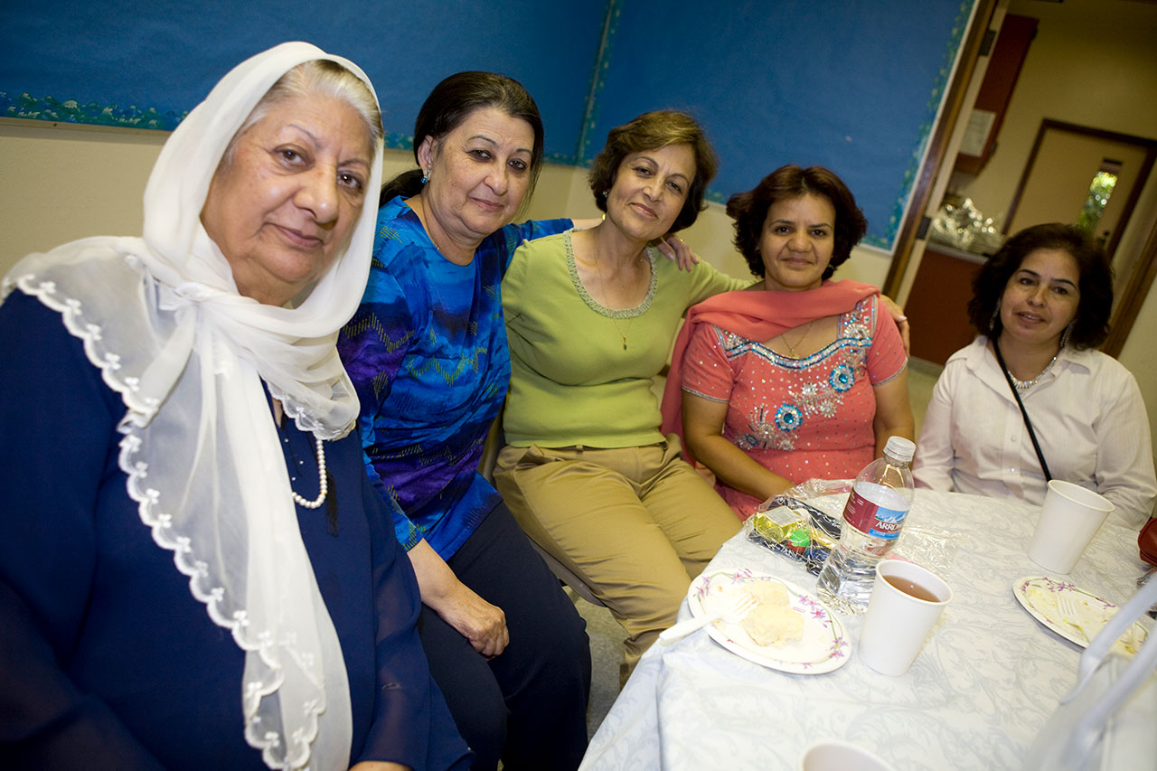 A Mother's Day celebration for Afghan families hosted by JFCS East Bay in 2011. (Photo/File)