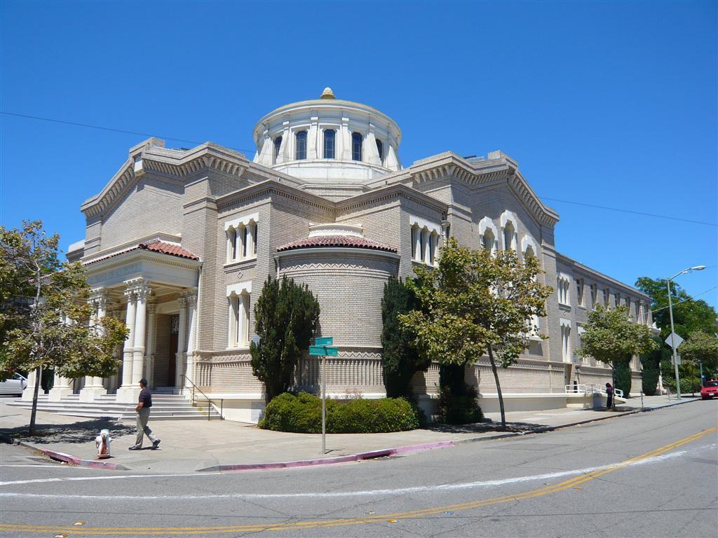 Temple Sinai in Oakland. (Photo/Wikimedia Commons-Jayjg)