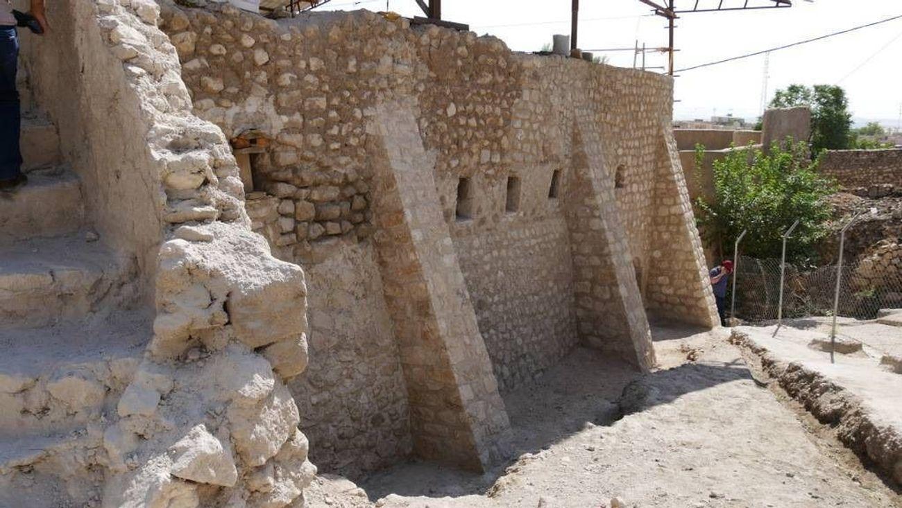 The tomb of the biblical prophet Nahum in Alqosh, Iraq. (Photo/Forward-Courtesy ARCH International)