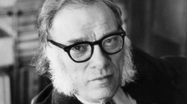 Portrait of the American biochemist and writer Isaac Asimov in the 1970s. (Photo/JTA-Mondadori via Getty Images)