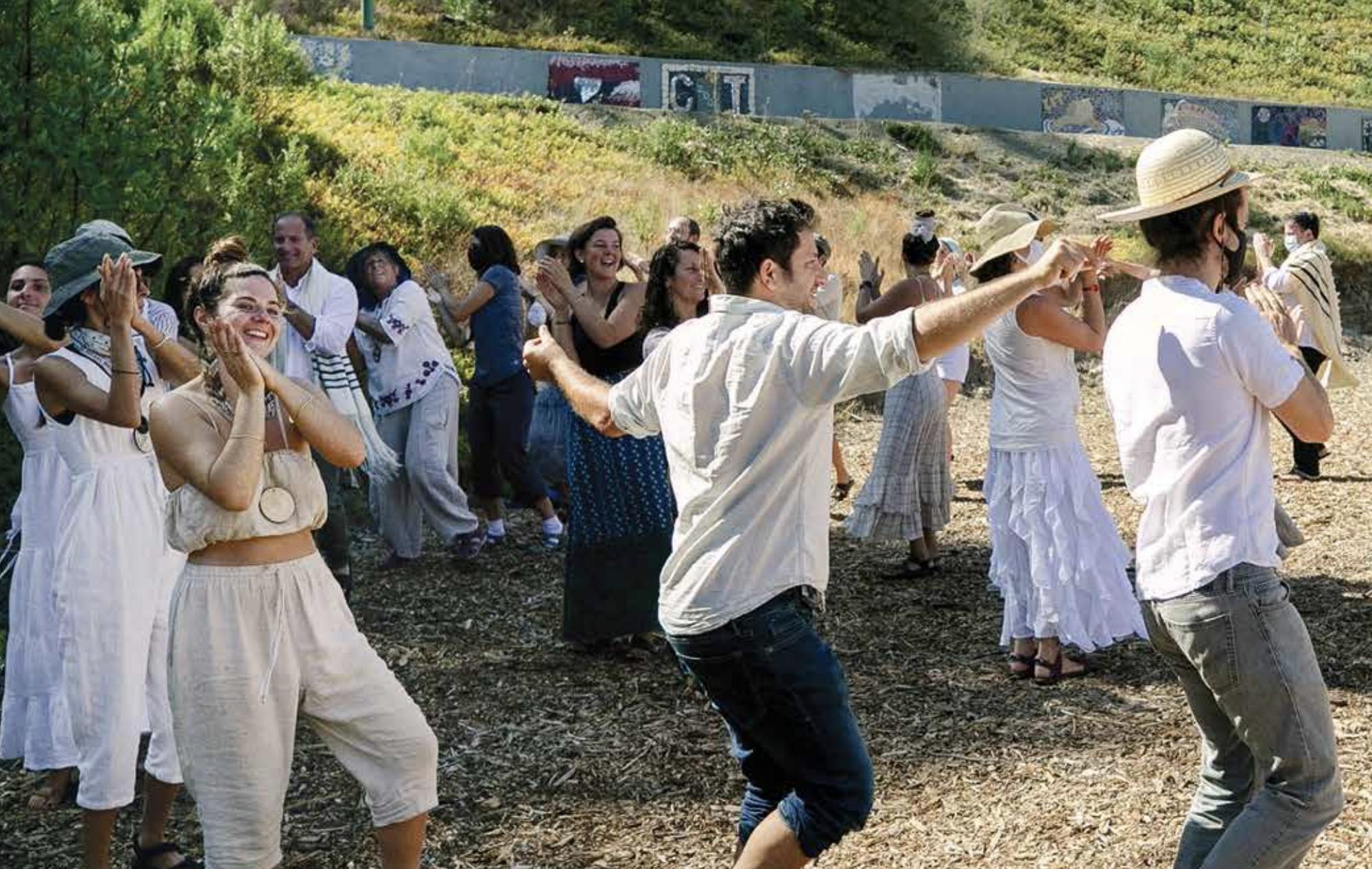 Wilderness Torah Rosh Hashanah celebration at Camp Newman, September 2021. (Photo/Darren Miller)