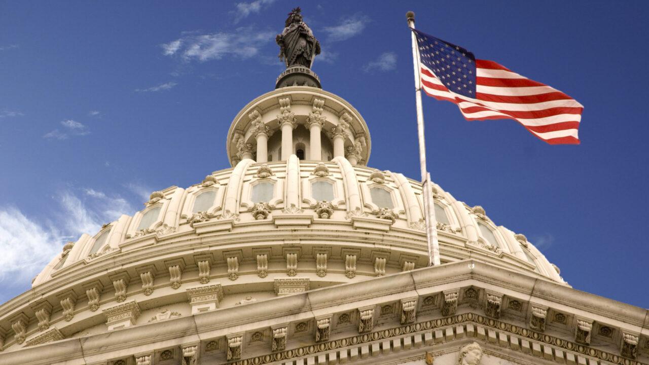 The dome of the US Capitol. (Photo/Wikimedia-David Maiolo)