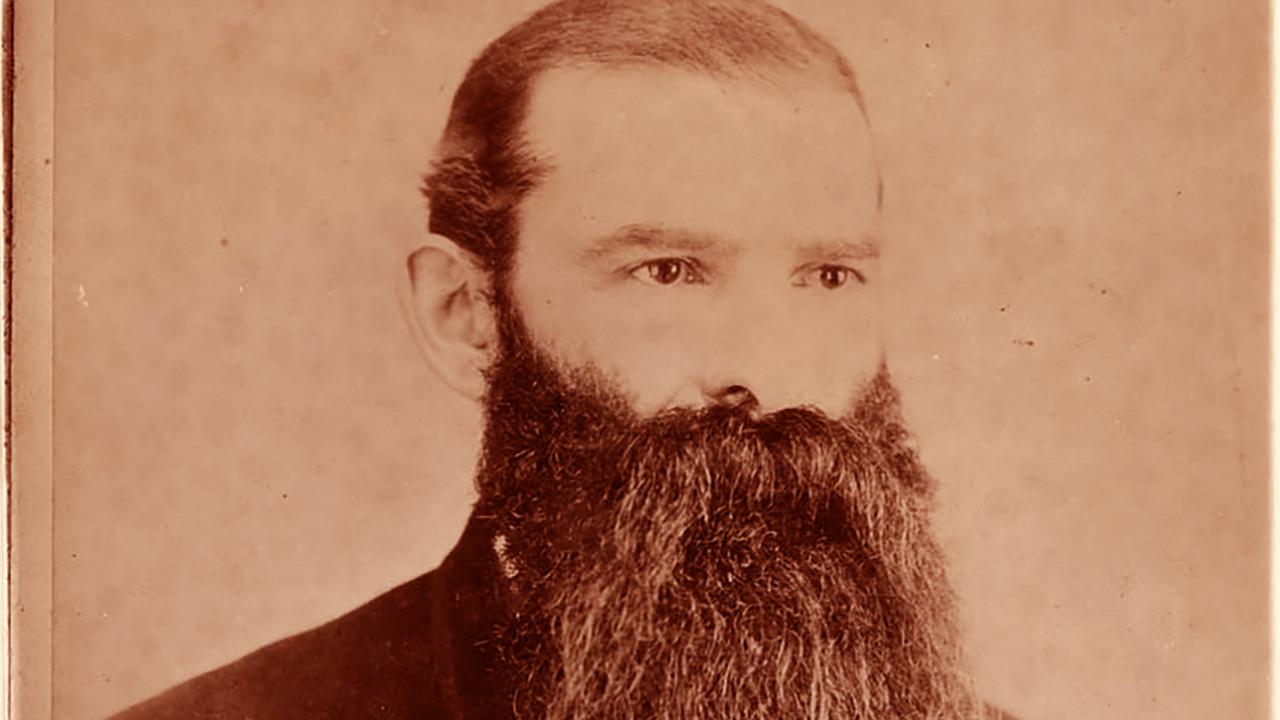 Sigismund Danielewicz, seen here ca. 1884, was a Jewish union organizer representing seamen and barbers. (Photo/Courtesy UC Berkeley, Bancroft Library)