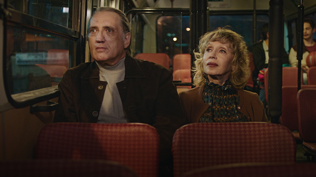 "Vladimir Friedman and Maria Belkin in ""Golden Voices."" (Photo/JTA_Music Box Films)"