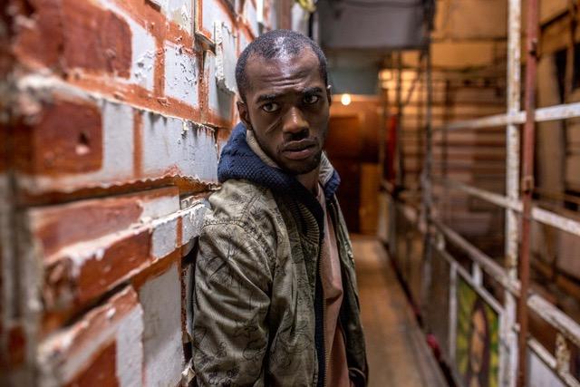 "Sean Mongoza as Gabriel in ChaiFlicks' ""Asylum City."" (Photo/Nati Levi)"