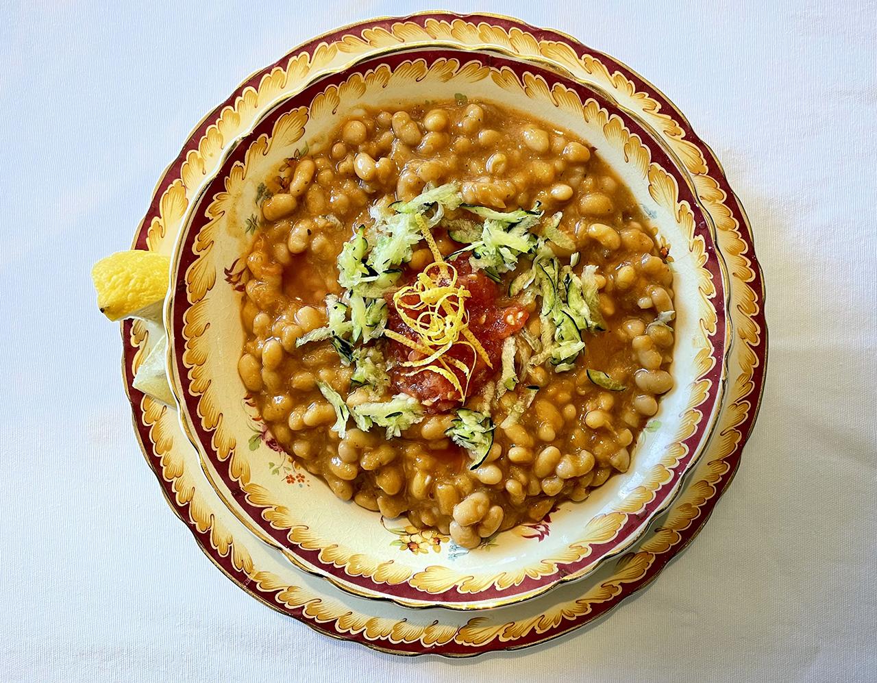 Loubia — Moroccan White Bean and Tomato Soup (Photo/Faith Kramer)
