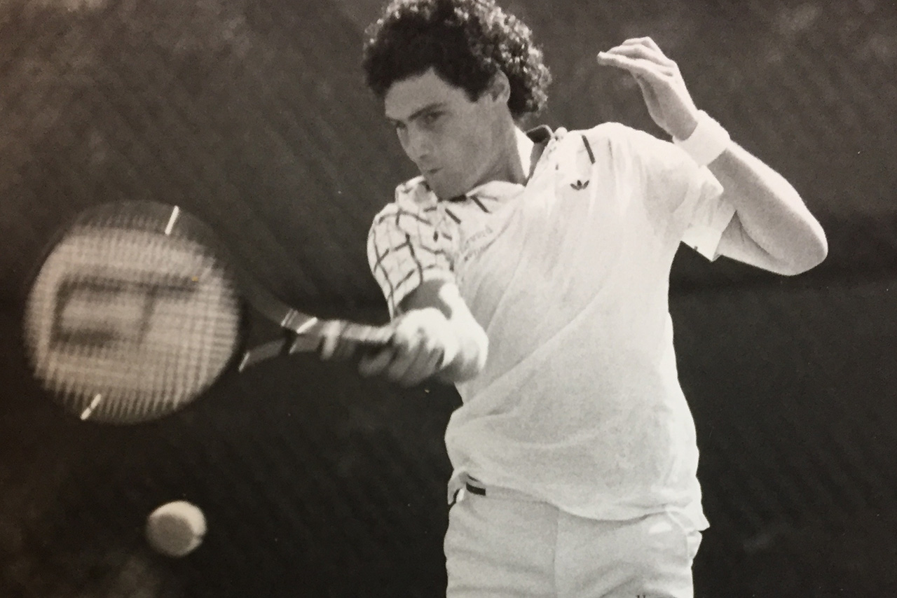 Tennis player Larry Scott is one of five 2021 Jewish Sports Hall of Fame of Northern California inductees.