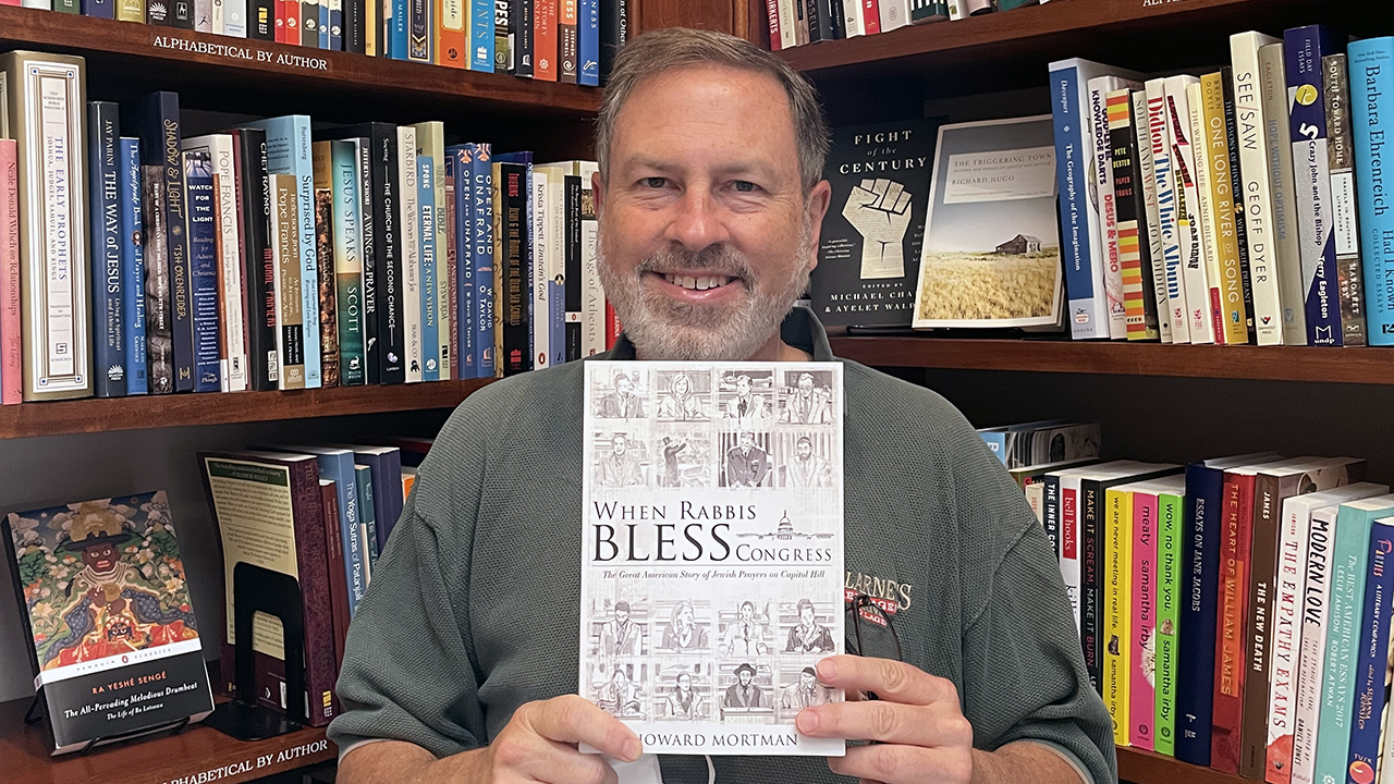 """Howard Mortman is the author of """"When Rabbis Bless Congress"""""""