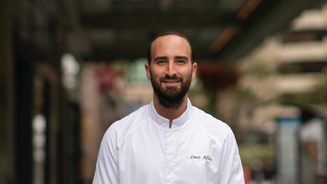 Omri Aflalo is executive chef of Tribune. (Photo/Adahlia Cole)