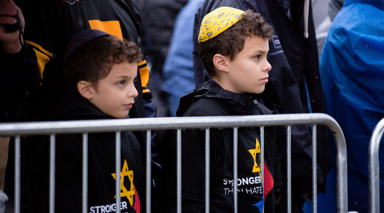 Children attend a rally for peace and unity in Point State Park in Pittsburgh, Pennsylvania to remember victims of the Tree of Life synagogue shooting, Nov. 9, 2018. (Photo/JTA-Flickr Commons-Gov. Tom Wolf)